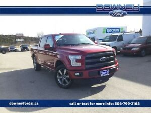 2016 Ford F-150 LARIAT OVER $11,000 OF ADDED OPTIONS TWIN PANEL