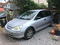 SOLD MOT failure Honda Civic