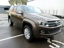 2011 Volkswagen Amarok 2H MY12 TDI400 Highline (4x4) 6 Speed Manual Dual Cab Utility Melrose Park Mitcham Area Preview