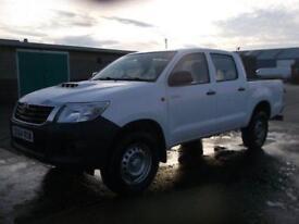 Toyota Hilux ACTIVE D-4D D/CAB 4X4 144 BHP. AIR CON DIESEL MANUAL WHITE (2014)
