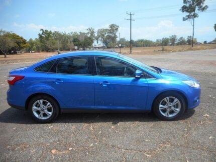 2014 Ford Focus LW MKII Trend PwrShift Blue 6 Speed Sports Automatic Dual Clutch Sedan