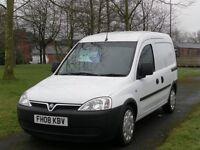 VAUXHALL COMBO 08 Vauxhall Combo 1.7 1700 CDTI (95k Miles) No Vat. (white) 2008