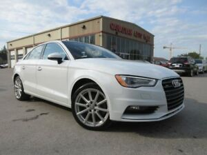 2015 Audi A3 2.0T PROGRESSIV QUATTRO, ROOF, LEATHER, 29K!
