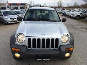 2004 Jeep Liberty Sport 4x4! BRAND NEW TIRES & BRAKES! A/C! London Ontario image 6