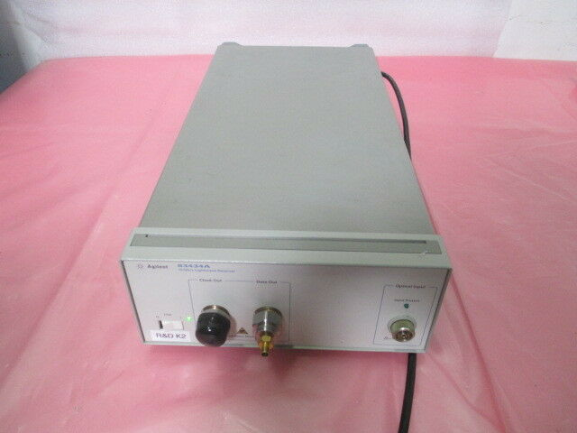 Agilent 83434A 10 Gb/s Lightware Reciever, 418913