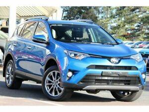 2017 Toyota RAV4 ASA44R Cruiser AWD Blue Gem 6 Speed Sports Automatic Wagon Christies Beach Morphett Vale Area Preview