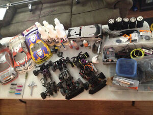 Race Ready Nitro RC car package. Serpent RC