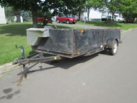 6x14 utility trailer / portable sides