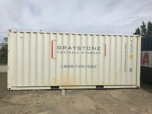 Lightly Used 20' Shipping Container, $3500 + Shipping in Halifax