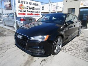 Audi A3 S-Line Mags 19Po Cuir Toit Pano. 1.8T 2015