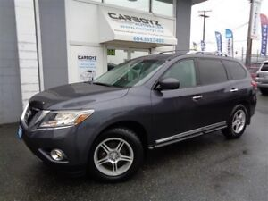2014 Nissan Pathfinder Platinum 4x4, Nav, Leather, Rev. Camera/S