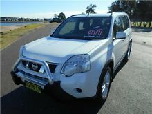2012 Nissan X-Trail T31 Series IV ST White 1 Speed Constant Variable Wagon Hamilton East Newcastle Area Preview