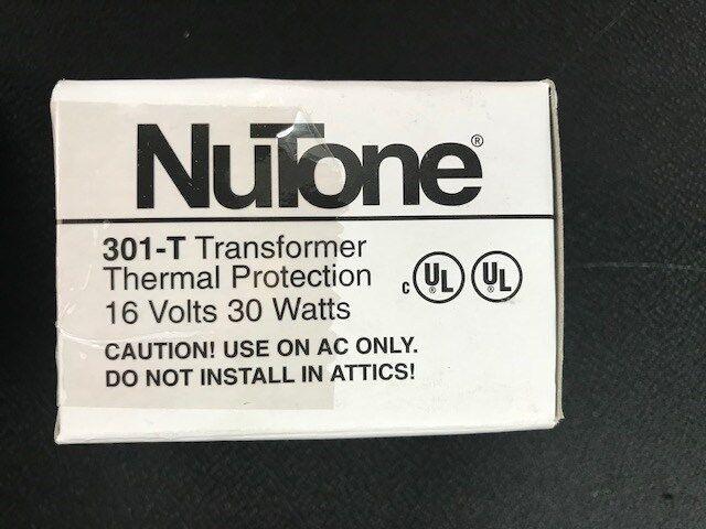 *NEW* Nutone 301-T Transformer IMA3303 IM3303 Chime Door 16 Volts 30 Watts