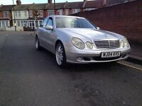 MERCEDES E270CDI 2004YEAR WITH MOT