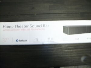 RCA Home Theater Sound Bar Wireless and Bluetooth