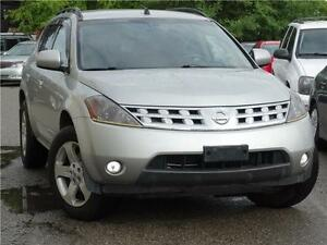 2004 Nissan Murano SL, with alloy, AWD