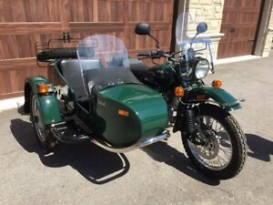 2010 Ural Patrol only 228 KM driven just like brand new