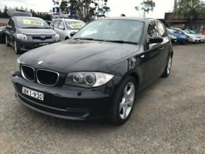 2009 BMW 120i E87 MY09 Black 6 Speed Automatic Hatchback Lansvale Liverpool Area Preview