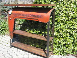 Woodsense Antique Tractor Console