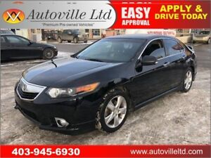 2012 ACURA TSX PREMIUM PACKAGE LEATHER SUNROOF PADDLE SHIFTERS
