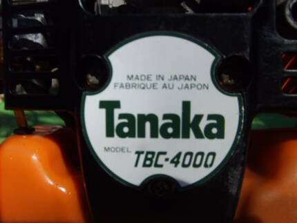 TANAKA TBC-4000 INDUSTRIAL GRADE BRUSH CUTTER Merrimac Gold Coast City Preview
