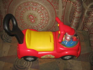 Fisher-Price Little People Time to Learn Ride-On Like-New Condit