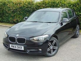 BMW 1 SERIES 1.6 116I SPORT 5d (black) 2014