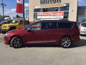 2017 Chrysler Pacifica LIMITED|LEATHER|SUNROOF|DVD