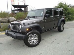 2017 Jeep WRANGLER RUBICON UNLIMITED (ONLY 9500 KMS! 4X4, 3.6L V