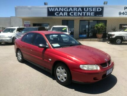 2002 Holden Commodore VX II Acclaim Burgundy 4 Speed Automatic Sedan Wangara Wanneroo Area Preview