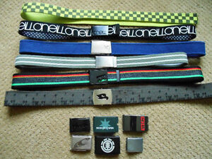 Selling a bunch belts and buckles. These are all the type that