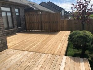 Are you ready for a new Fence or Deck ? ... Enjoy your summer