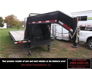 2013 GATORMADE 25 FT TANDEM WITH 5 FT RAMP