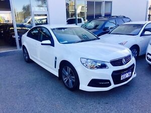 2015 Holden Commodore VF MY15 SV6 White 6 Speed Automatic Sedan Beckenham Gosnells Area Preview