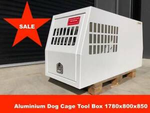 Dog Cage Aluminium Tool Box 1780*800*850 Powder Coated Melbourne CBD Melbourne City Preview