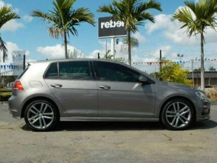 2015 Volkswagen Golf AU MY16 110 TSI Highline Limestone Grey 7 Speed Auto Direct Shift Wagon