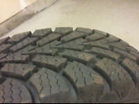 Goodyear Nortic Winter Tires With Rims
