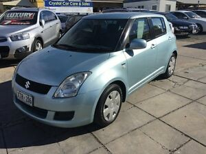 2007 Suzuki Swift RS415 Ice Blue 5 Speed Manual Hatchback Park Holme Marion Area Preview
