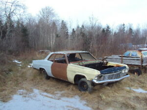 1965 Chevy Biscayne and Chevy projects