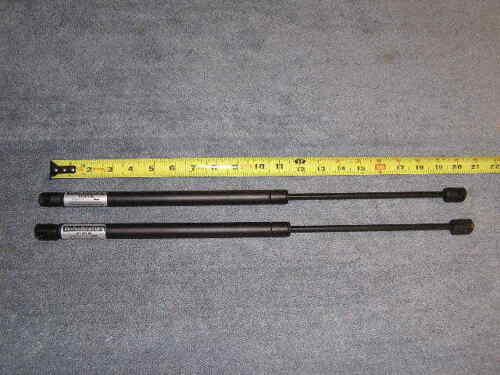 """2ea Tanning Bed Support Prop Rod 19.7"""" 311n 80# Shock Spring Cylinder Lid Lift"""