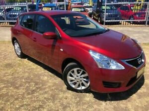 2016 Nissan Pulsar C12 Series 2 ST Red Continuous Variable Hatchback
