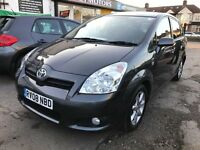 2008 Toyota Corolla Verso 1.8 SR Multimode 5d,AUTOMATIC,7 SEATER VERY GOOD CAR, WELL LOOKED AFTER,