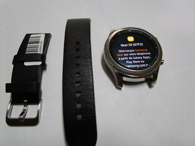 Samsung Galaxy Gear S3 Classic 46mm Stainless Steel Case SilverSM R770 for sale  Shipping to Canada