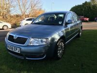 2008 SKODA SUPERB CLASSIC TDI 115 1.9 TURBO DIESEL 115 BHP MOT NOVEMBER 2018 NO ADVISORY 1 FORMER