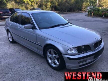 2000 BMW 323I Silver 5 Speed Sports Automatic Sedan