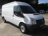 Ford Transit T350 Medium Roof Van Tdci 100Ps Euro 5 DIESEL MANUAL WHITE (2013)