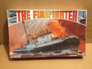 Revell The Firefighter Harbor Fire Boat Model  (No. 0389) 1979 London Ontario image 1