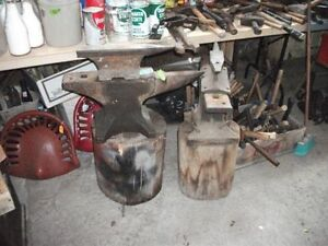 antiques blacksmith anvil ,winchargers ,towers ,ham radios