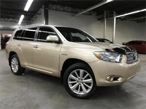 TOYOTA HIGHLANDER HYBRID LIMITED 2008 / NAVI / CAMERA / FULL!!