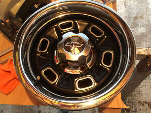 14 Inch GM Rally Rims and other parts from a 2nd Gen Camaro